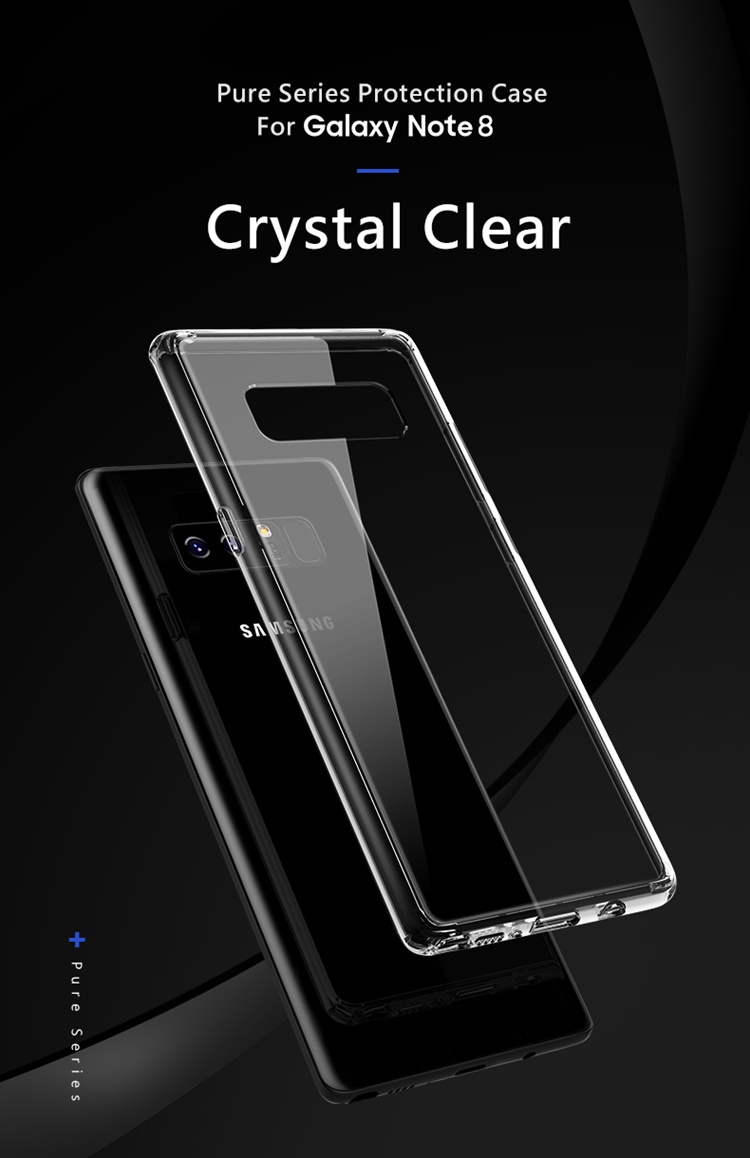 Ốp dẻo Rock Pure trong suốt Galaxy Note 8