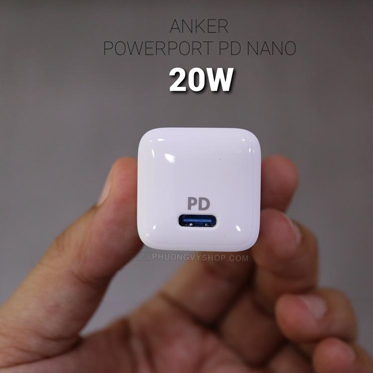 Cóc sạc Anker Powerport PD Nano (20W) A2633