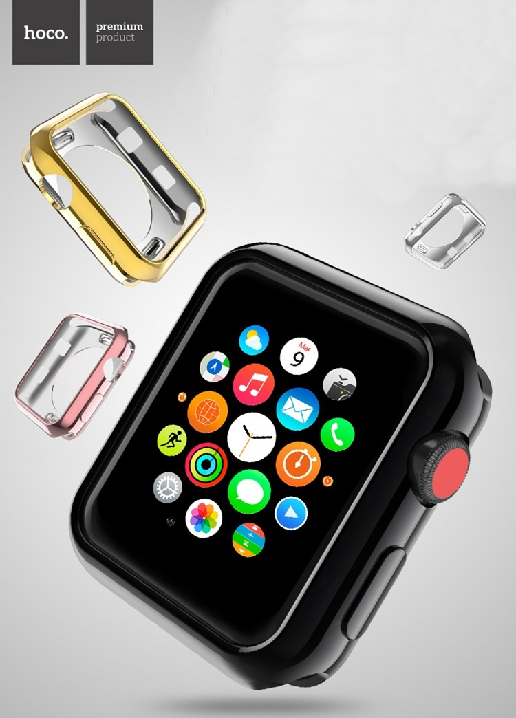 Ốp dẻo color hiệu Hoco cho Apple Watch