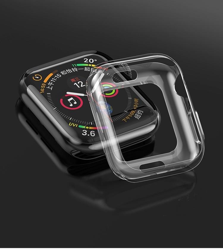 Ốp dẻo trong suốt hiệu Hoco cho Apple Watch (series 4)