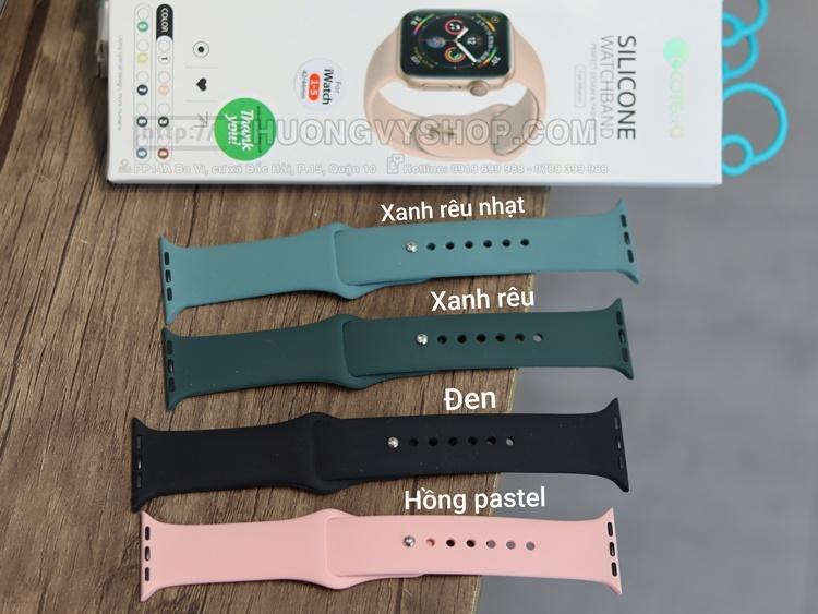 Dây cao su Coteetci Apple Watch