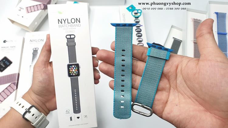 Dây nylon Apple Watch (series 1, 2, 3, 4) chính hãng Cottecci