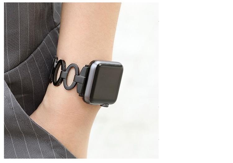 Dây thép mắc tròn Apple Watch series