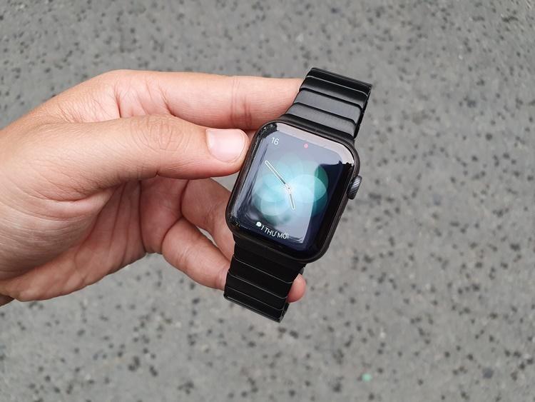 Dây thép xương cá Apple Watch