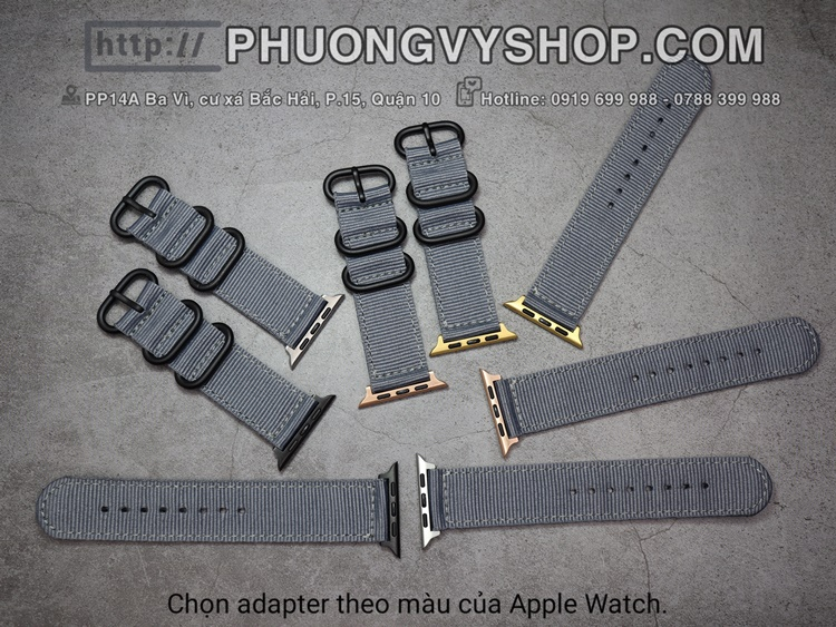 Dây vải dù Apple Watch