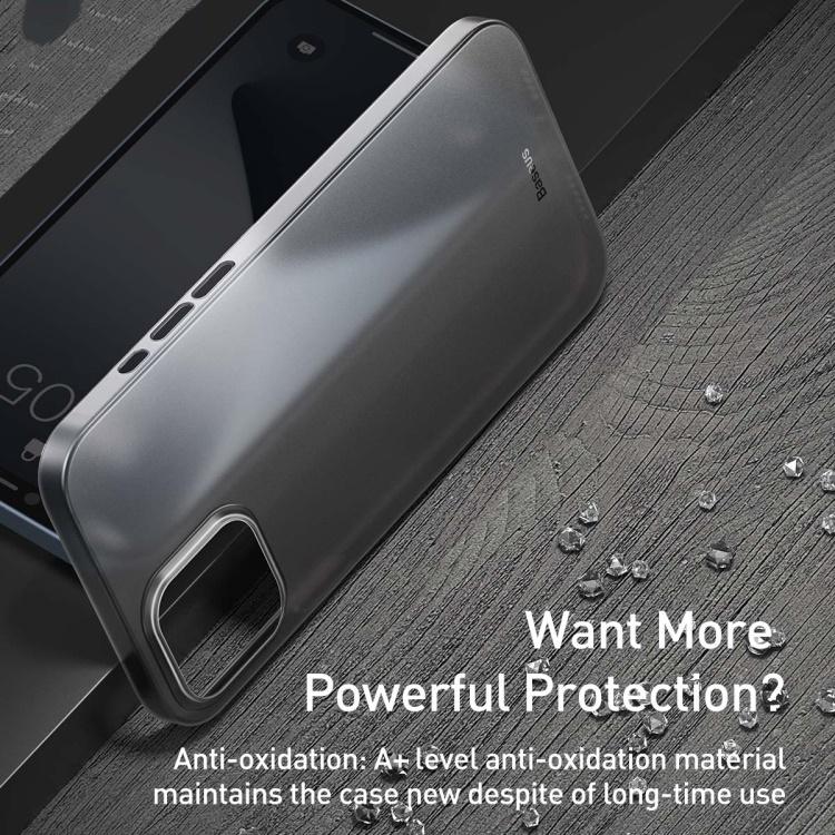 "Ốp lưng iPhone 12 Pro 6.1"" - Baseus WING siêu mỏng"