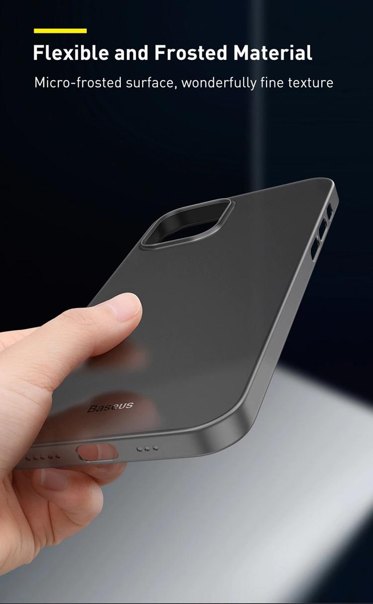 Ốp lưng iPhone 12 mini - Baseus WING siêu mỏng