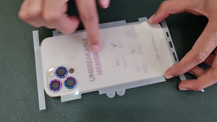 Dán PPF NHÁM (84172) full viền iPhone 12 ProMax