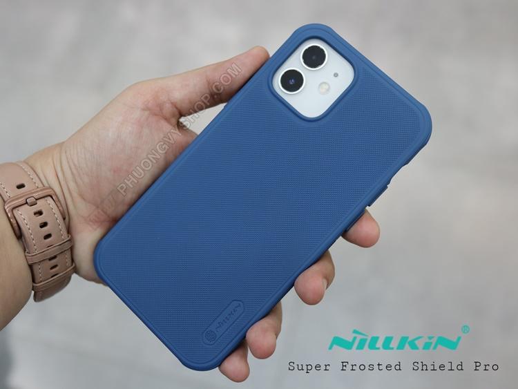 Ốp lưng iPhone 12 ProMax - Nillkin sần (viền dẻo)