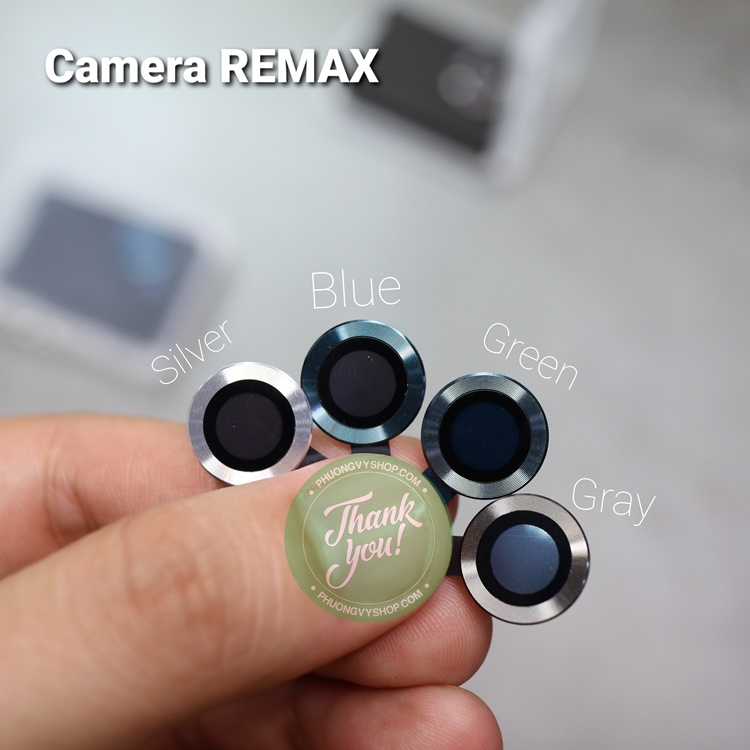 "Vòng nhôm camera iPhone 12 mini hiệu Remax ( iPhone 12 6.1"" , iPhone 11. )"