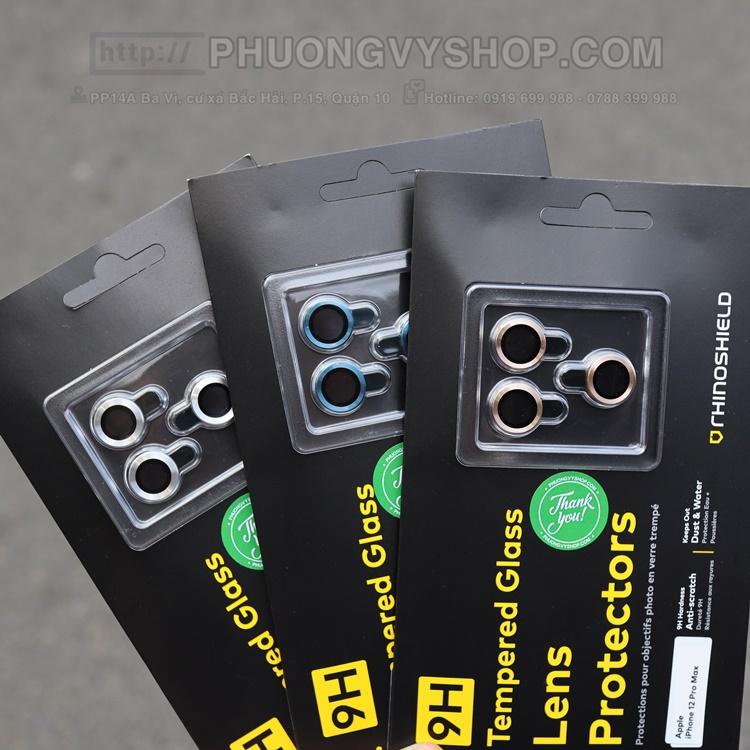 """Vòng nhôm camera iPhone 12 Pro 6.1"""" hiệu Rhinoshield"""