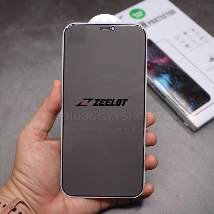 Dán cường lực iPhone 12 mini - ZeeLot chống nhìn trộm