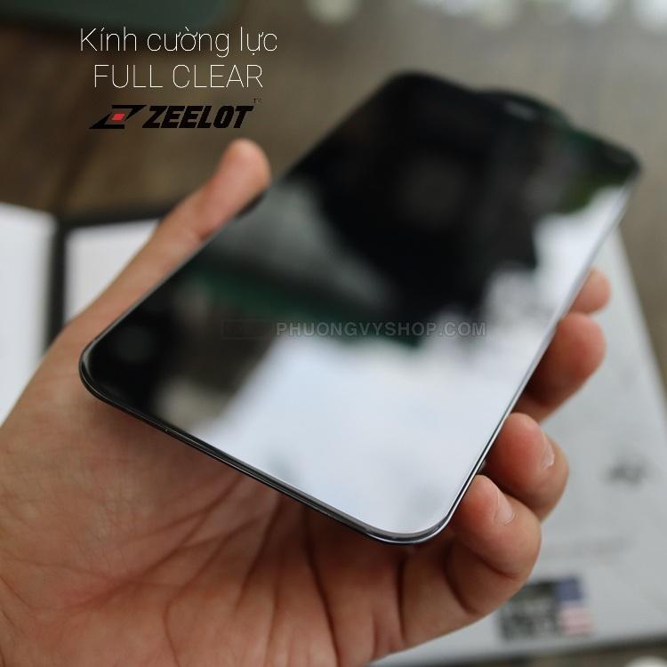 Dán cường lực iPhone 12 mini - ZeeLot FULL CLEAR trong suốt (thương hiệu Singapore)