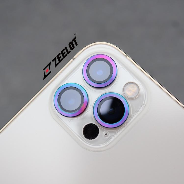 Vòng nhôm camera iPhone 13 ProMax Zeelot Plshield