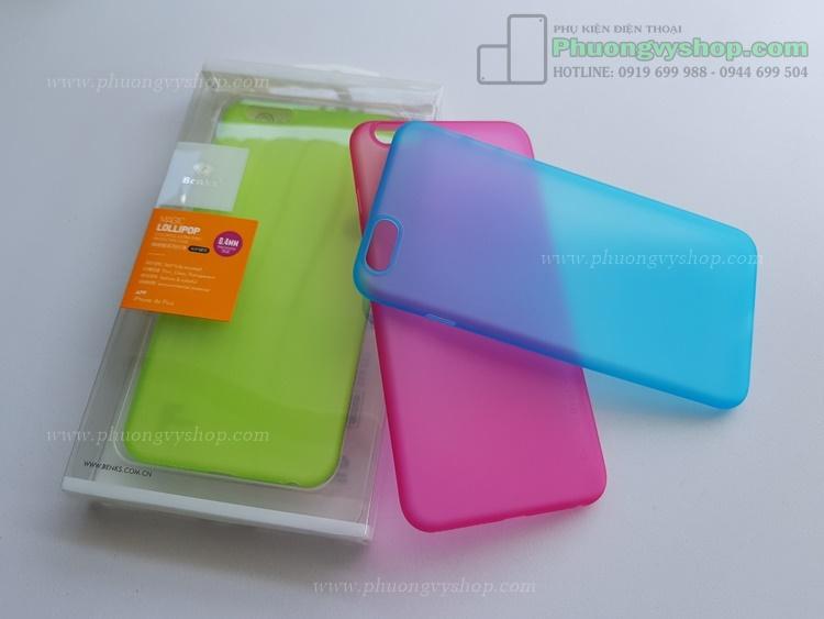Ốp siêu mỏng 0.4mm Benks iPhone 6 PLus