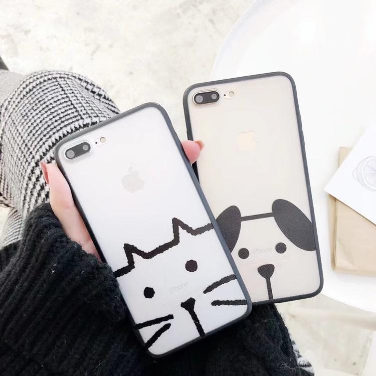 Ốp hình Cute NHÁM iPhone 8 Plus