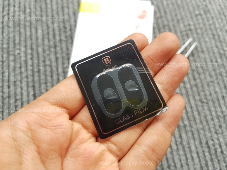 Dán camera iPhone X/Xs - hiệu Baseus (1 Hộp)