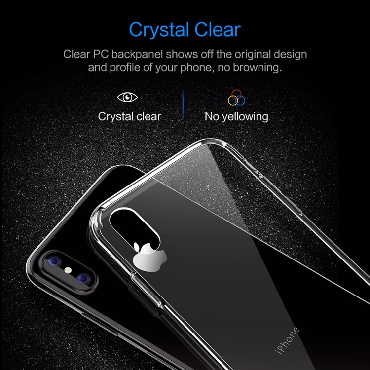 Ốp dẻo ToTu trong suốt iPhone (chống sốc tốt)