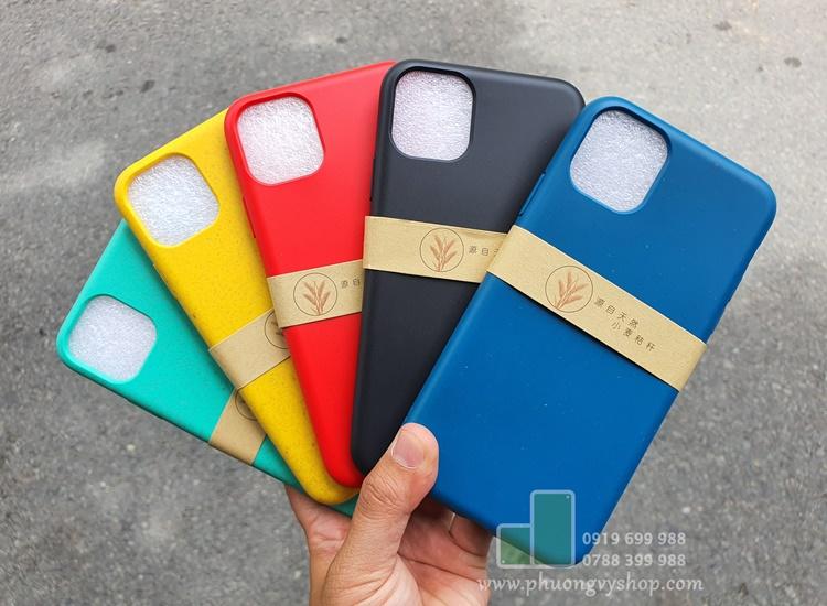 Ốp dẻo Color Pastel iPhone 11Pro