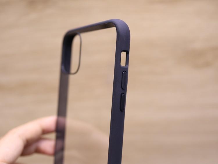Ốp dẻo IPAKY viền màu iPhone 11 Pro
