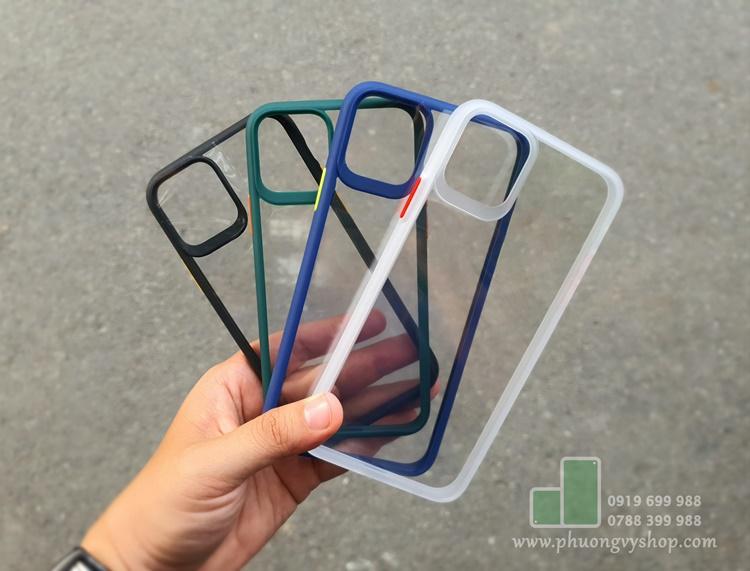 Ốp dẻo LIKGUS nắp lưng trong viền dày iPhone 11 Pro