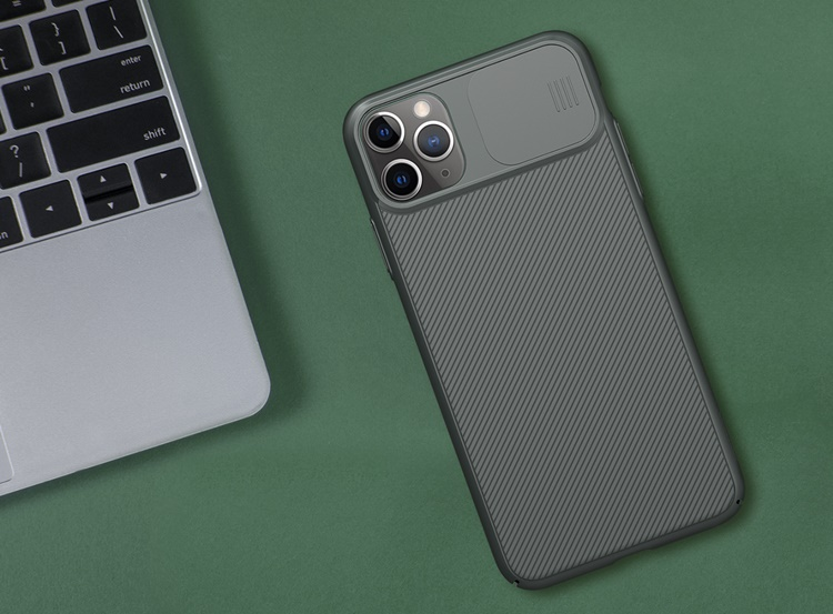 Ốp lưng iPhone 11 Pro - Nillkin Camshield (ốp cứng bảo vệ camera)