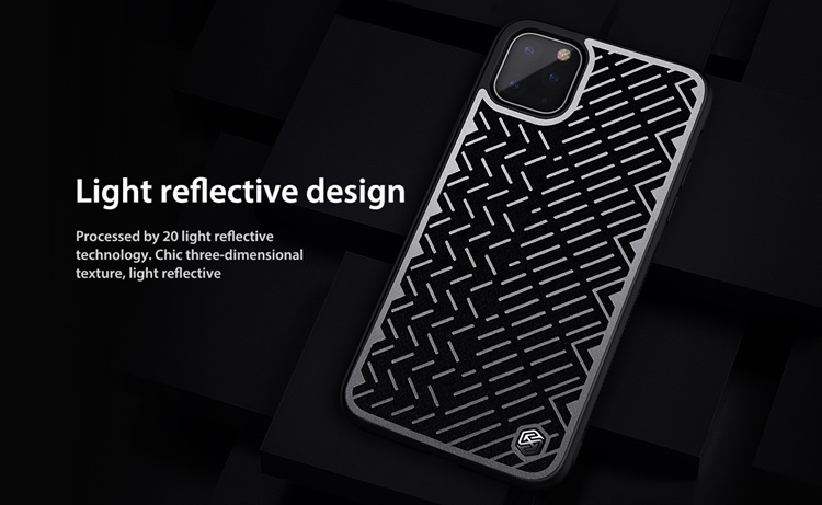 Ốp dẻo Nillkin Herringbone iPhone 11 Pro (phản quang)