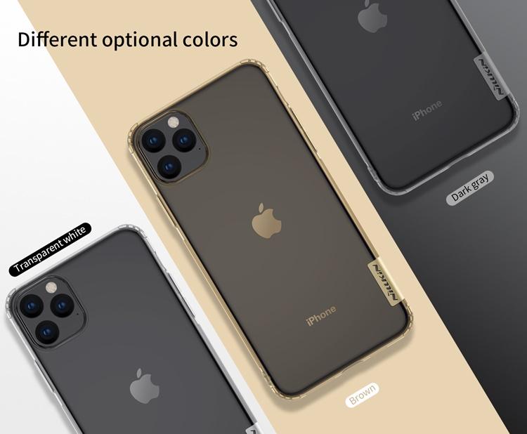 Ốp lưng iPhone 11. - Nillkin dẻo trong