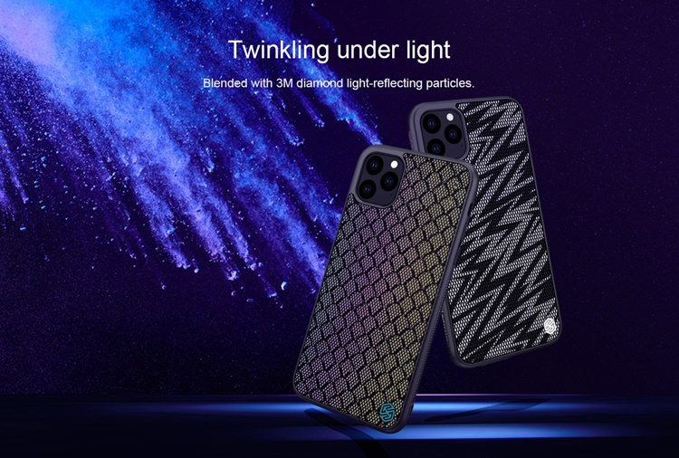 Ốp dẻo Nillkin Twinkle phản quang iPhone 11 Pro Max