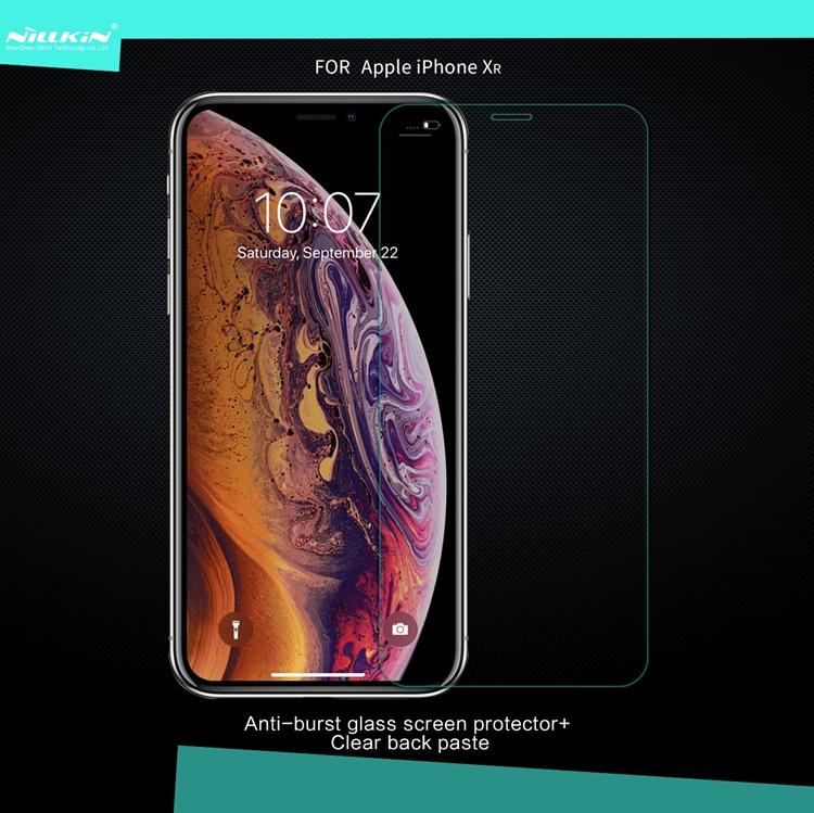 Dán màn hình cường lực 9H+ PRO hiệu Nillkin cho iPhone XR