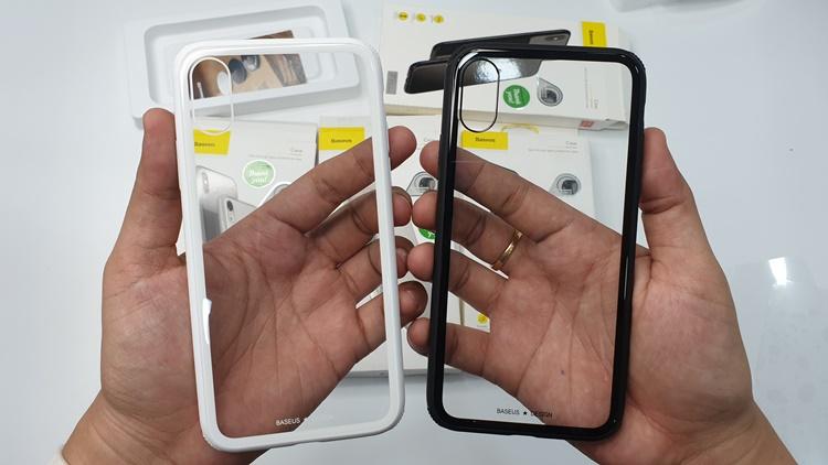 Ốp Baseus gù góc iPhone X/Xs