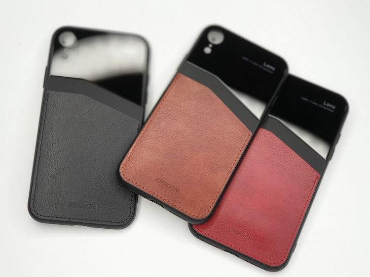 Ốp da Joyrom Kally iPhone X/Xs (có ngăn để ATM)