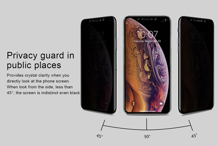 Dán cường lực Nillkin AP+ 3D Max iPhone 11 Pro (chống nhìn trộm)