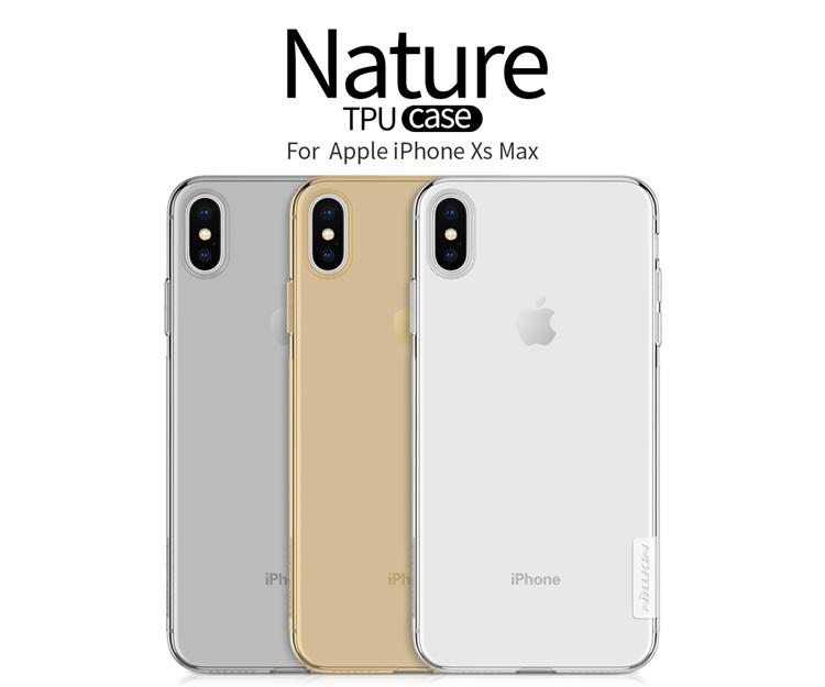 Ốp dẻo hiệu Nillkin chính hãng iPhone Xs Max