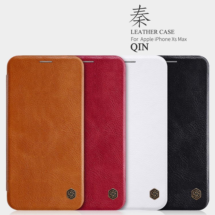 Bao da Nillkin QIN series iPhone X/Xs