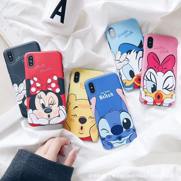 Ốp dẻo CARTOON iPhone XS Max