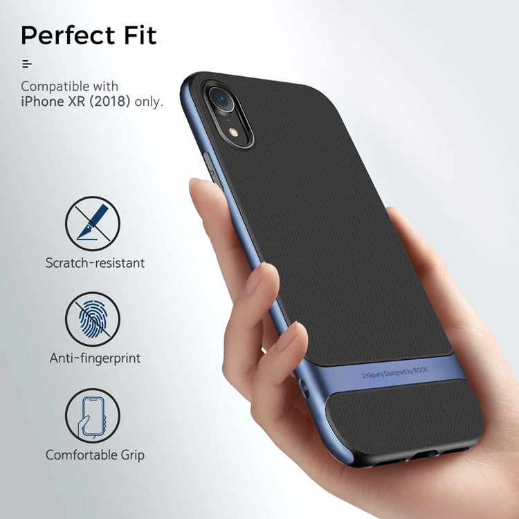 Ốp silicon chống sốc ROCK ROYCE iPhone XR