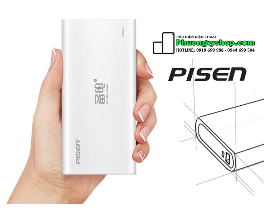 Pin dự phòng Pisen Portable 10.000 mAh (2.0A)