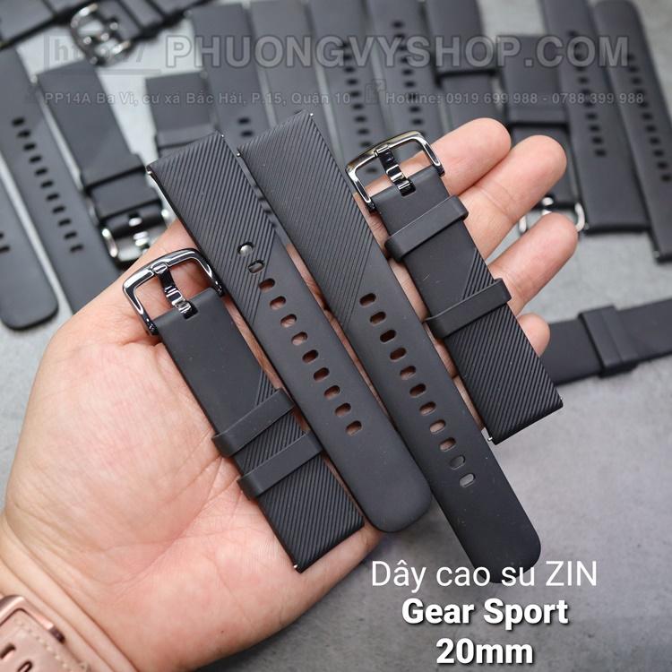 Dây cao su ZIN Galaxy Gear Sport (20mm)