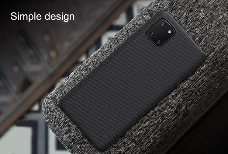 Ốp lưng Galaxy Note 10 Lite - Nillkin sần (ốp cứng siêu bền)