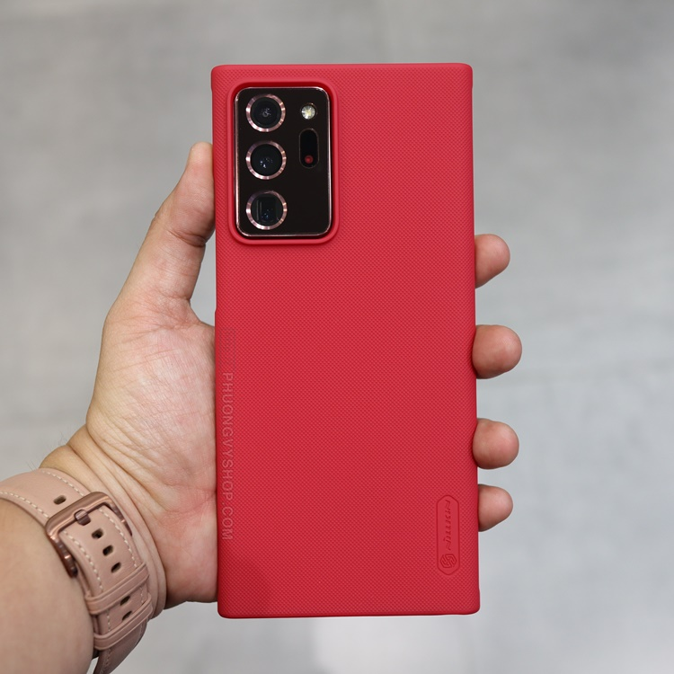 Ốp lưng Galaxy Note 20 Ultra - Nillkin sần (ốp cứng siêu bền)