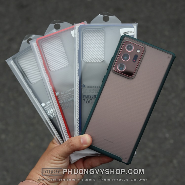 Ốp dẻo viền màu L132 Galaxy Note 20.