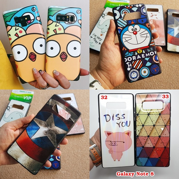 Ốp dẻo CARTOON Galaxy Note 8