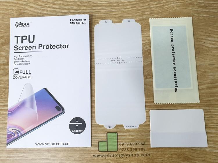 Dán dẻo full màn hình VMax Galaxy S10 series