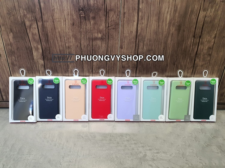 Ốp dẻo Membrane 0.88mm Galaxy S10 Plus (hiệu X-level)
