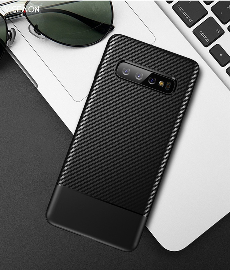 Ốp dẻo carbon Galaxy S10 Plus / S10 / S10e