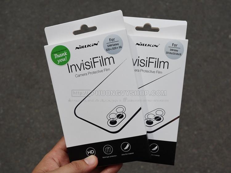 Dán camera Galaxy S20 Plus - hiệu Nillkin (1 miếng)