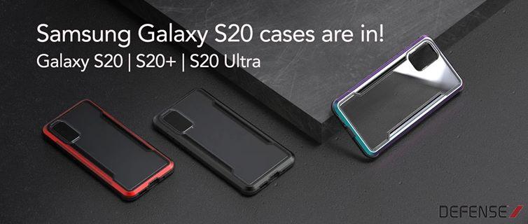 Ốp chống sốc Galaxy S20. - X-Doria Defense Shield chính hãng