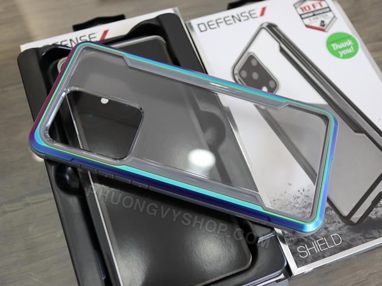 Ốp chống sốc Galaxy S20 Ultra - X-Doria Defense Shield chính hãng
