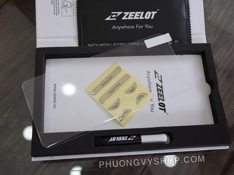 Dán màn hình Galaxy S20 Plus - Kính cường lực keo UV Zeelot